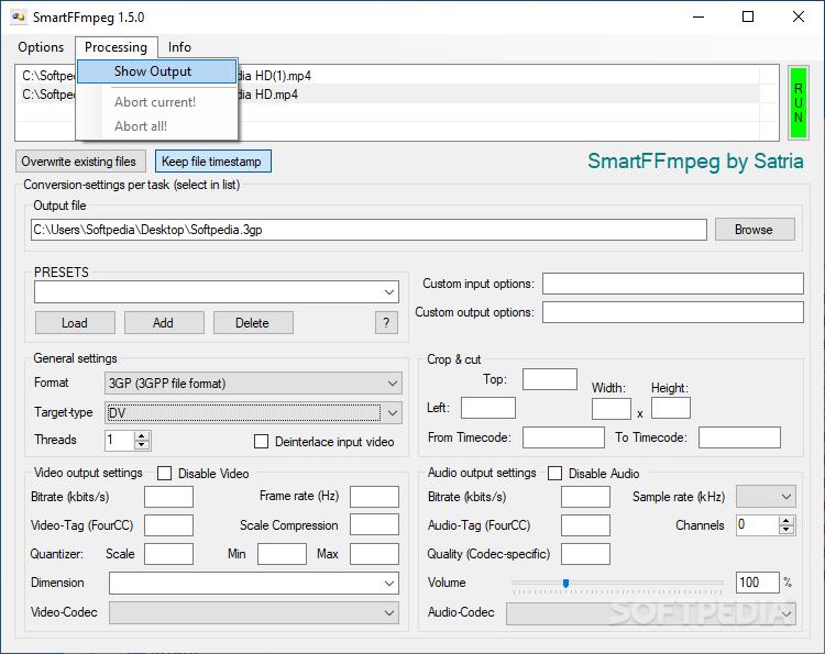 Download SmartFFmpeg 1 4 0