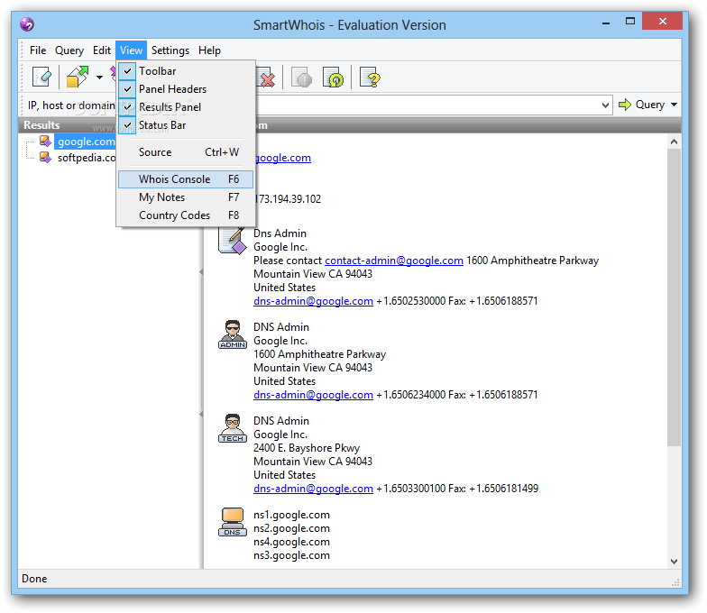 Download SmartWhois 5 1 Build 290