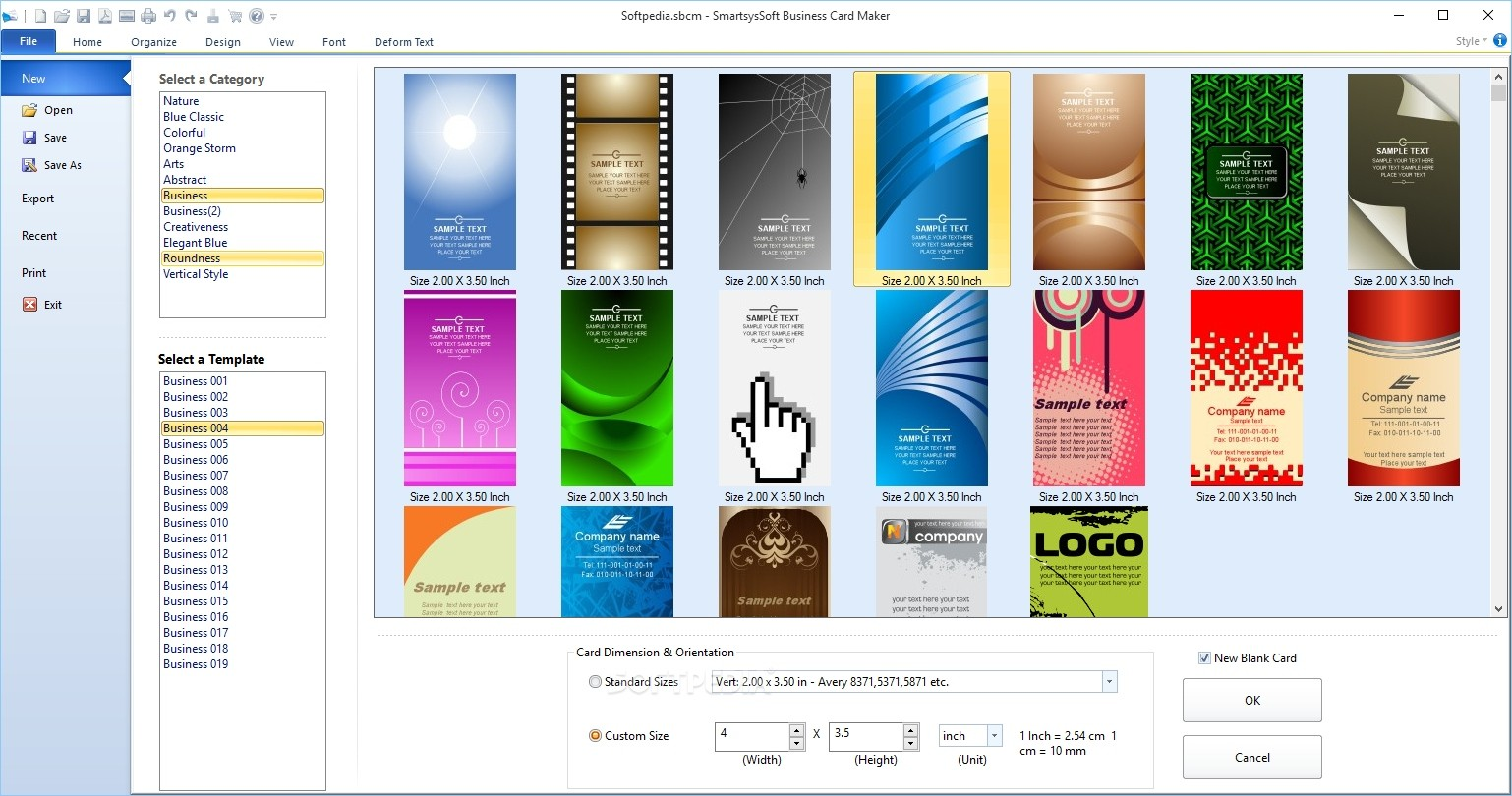 Download smartsyssoft business card maker 325 reheart Gallery