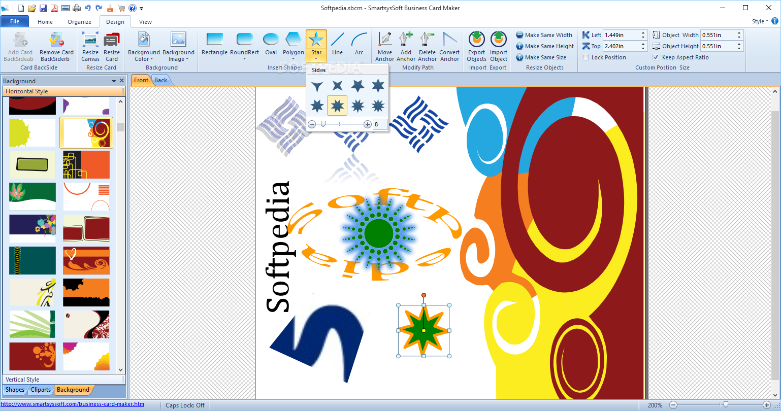 Download SmartsysSoft Business Card Maker 3.25