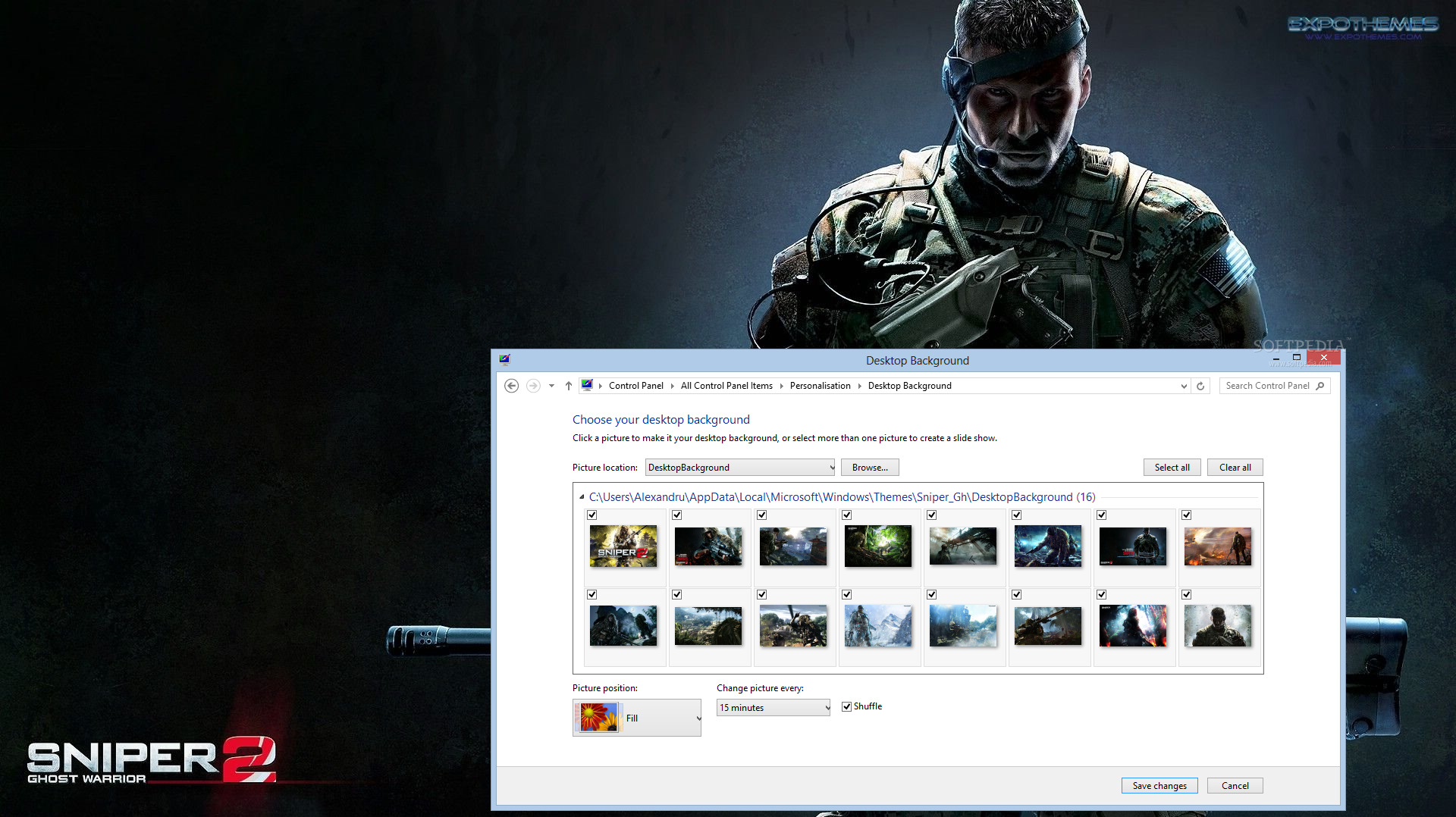 download sniper ghost warrior 2 theme 1.0