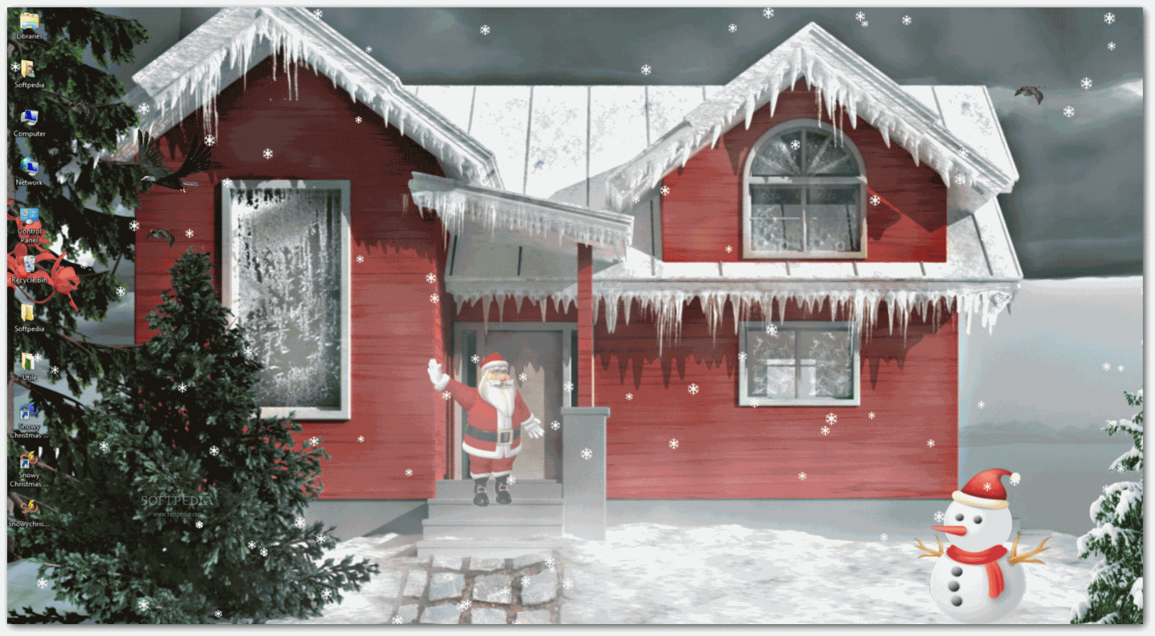download snowy christmas 3d 1.00