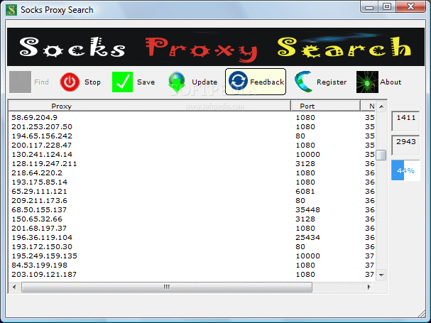 Download Socks Proxy Search 1 30