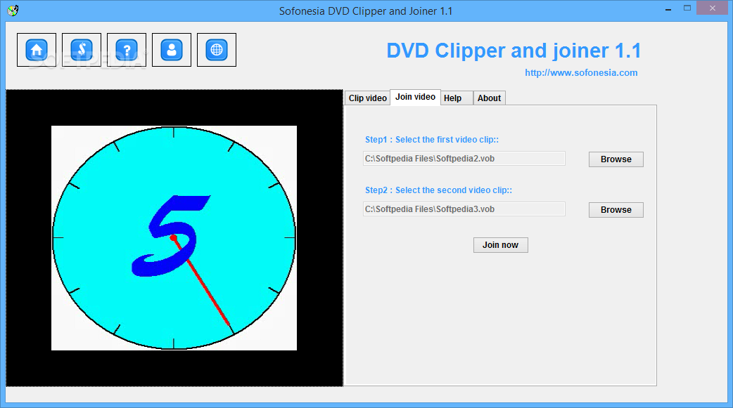 Windows media video clip joiner