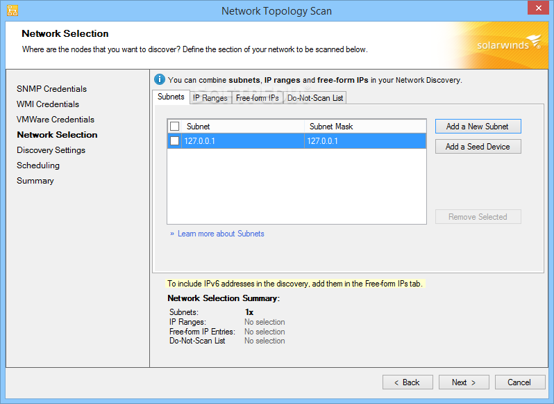 Download SolarWinds Network Topology Mapper 2 2 816 2
