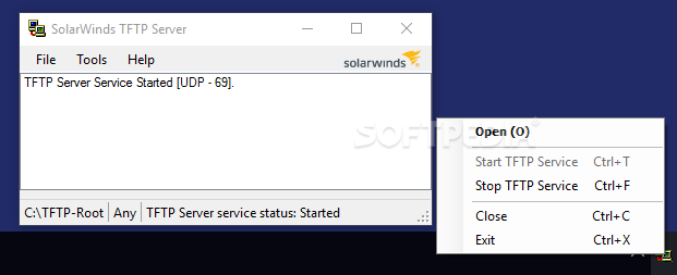 Download SolarWinds TFTP Server 11 0 4 101