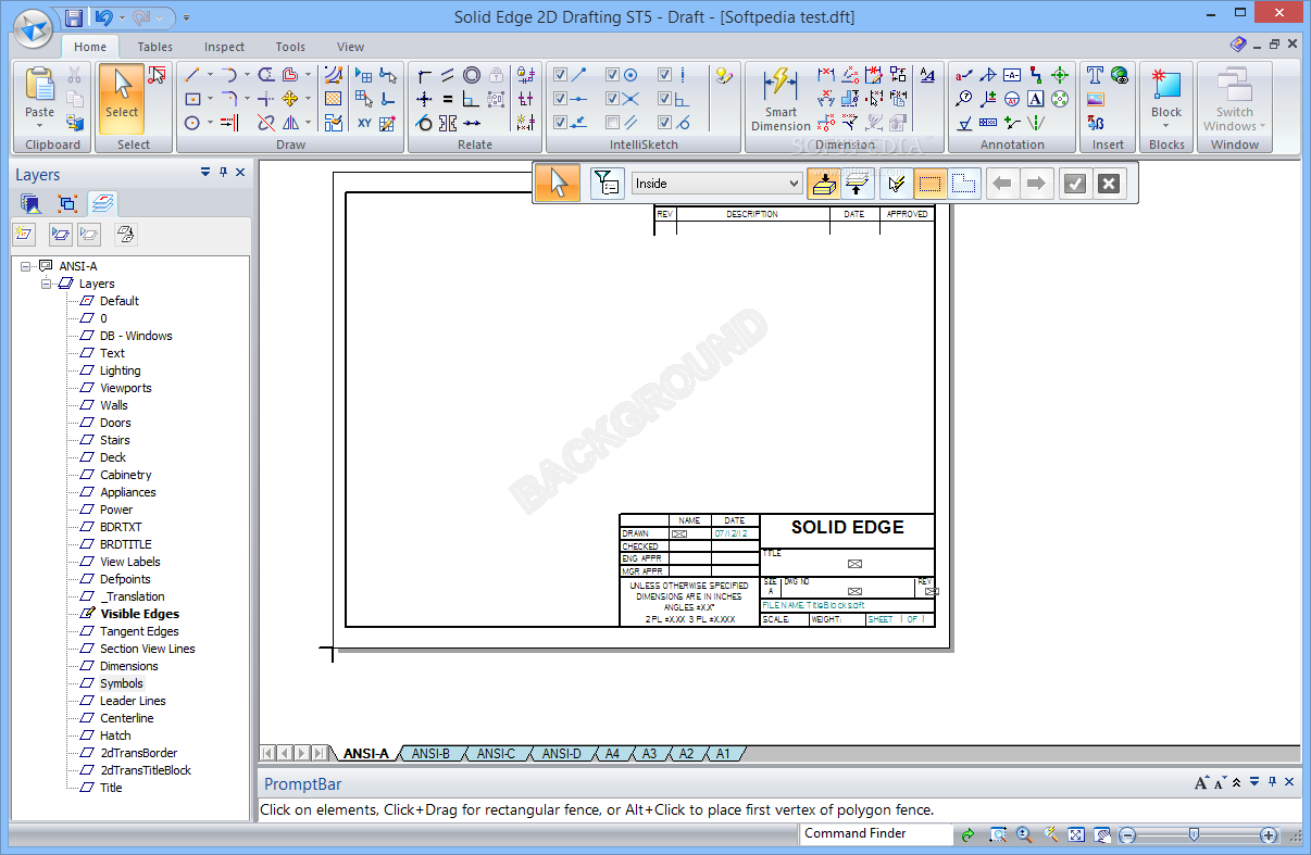 Download Solid Edge 2d Drafting St5