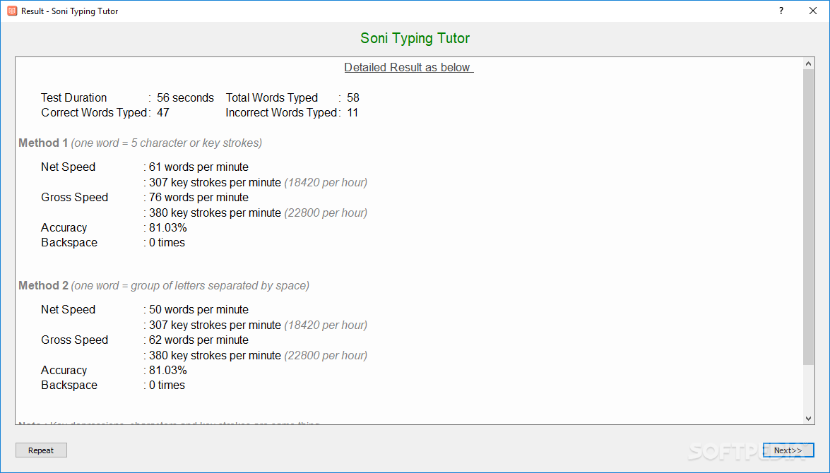 Download Soni Typing Tutor 4 1 91
