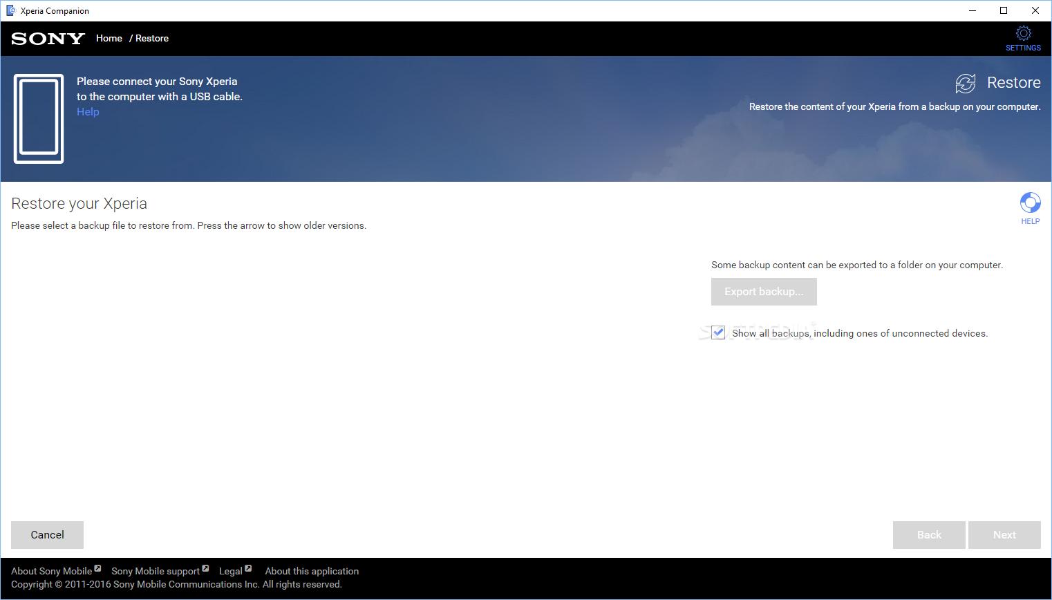 Download Sony Xperia Companion 2650