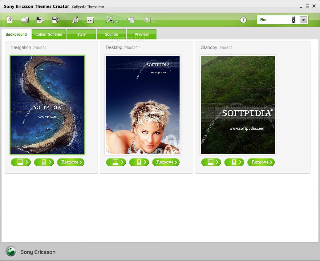 Sony ericsson themes creator 4.16 for mac