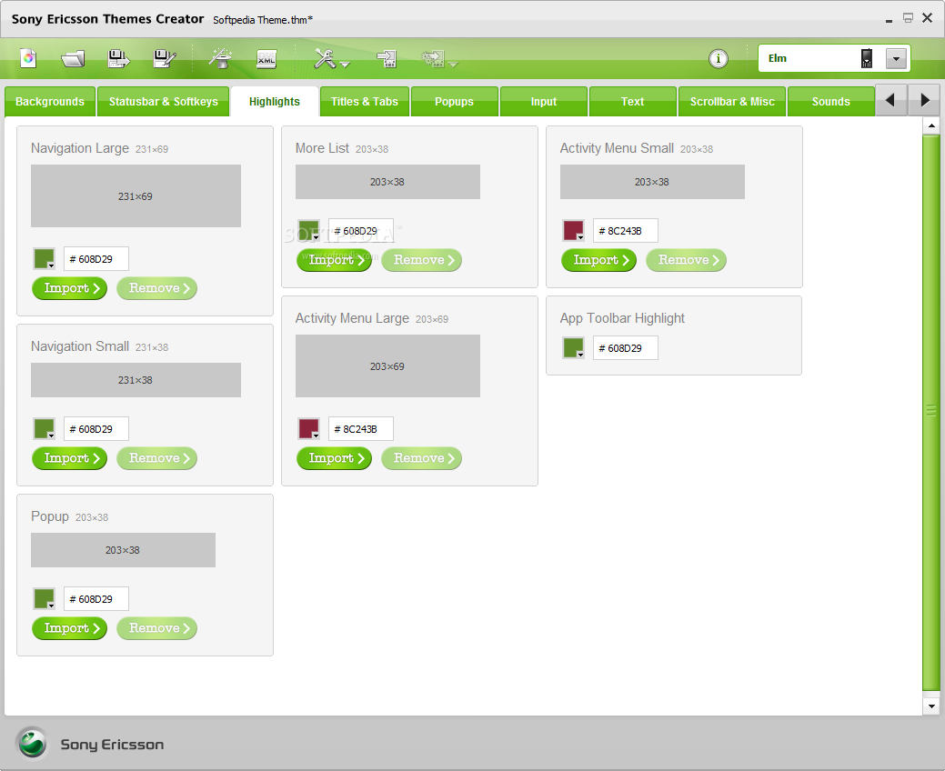 Opinions about Sony Ericsson Themes Creator
