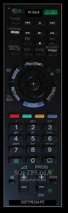 Download Sony Virtual Remote Control 1 3