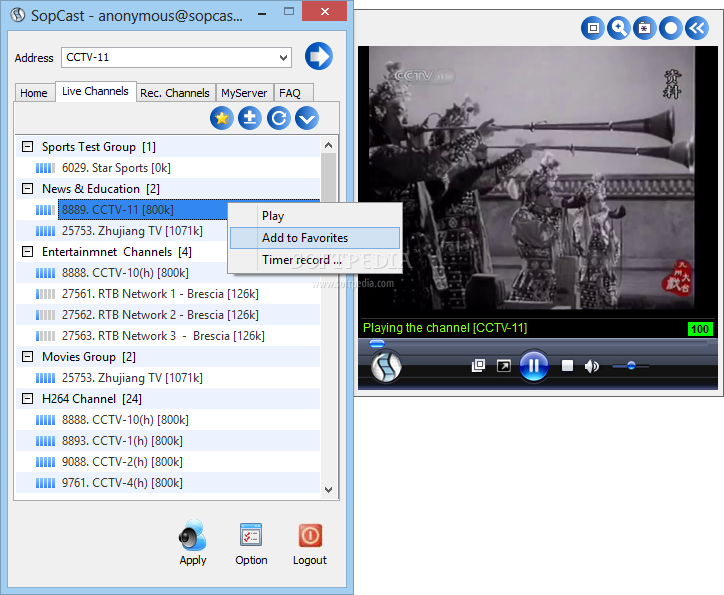 download sopcast for windows 7 32bit