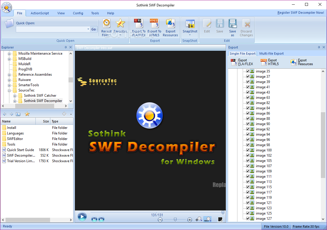 Download Sothink SWF Decompiler 7 4 Build 5320
