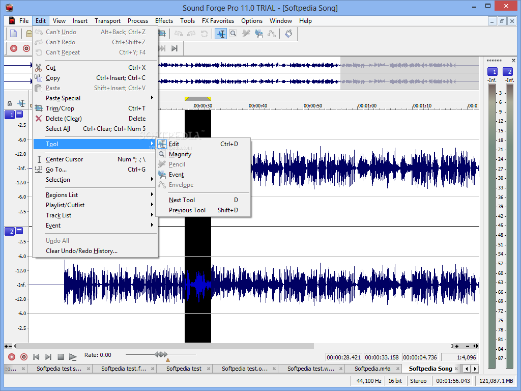 Download SOUND FORGE Pro 13 0 0 96