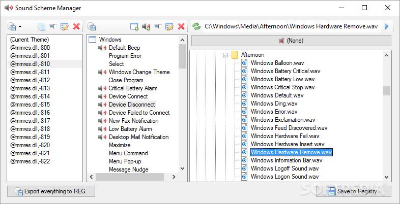 Download Sound Scheme Manager 1 0 0 1