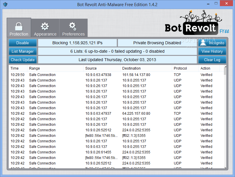 bot revolt anti malware free edition