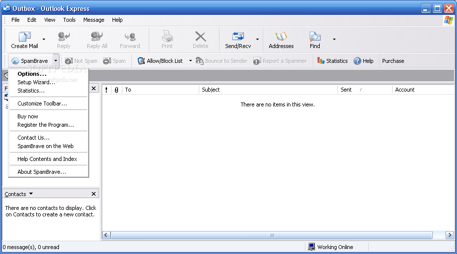 how to download outlook express for xp