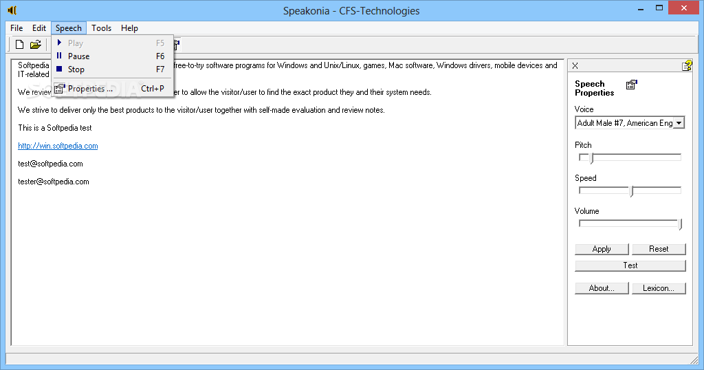 windows 7 text to speech voices download