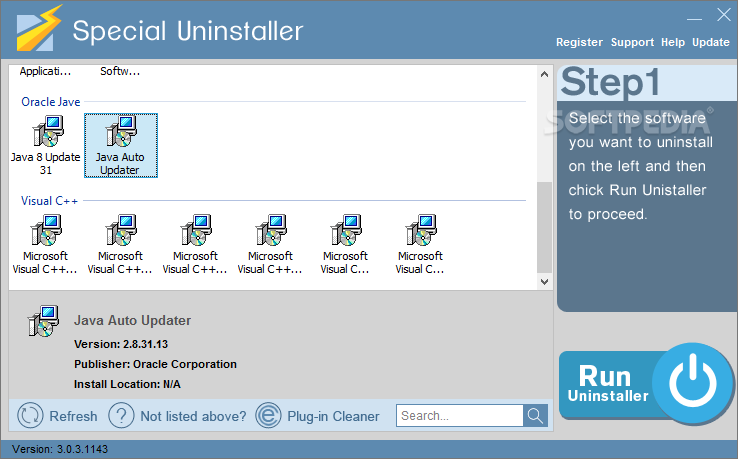 Download Special Uninstaller 3.0.3.1143