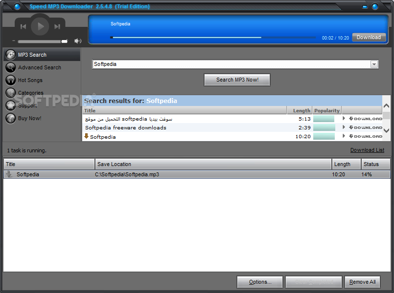 free mp3 downloader software Windows