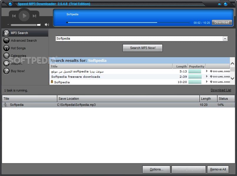Download Speed MP3 Downloader 2 6 3 6