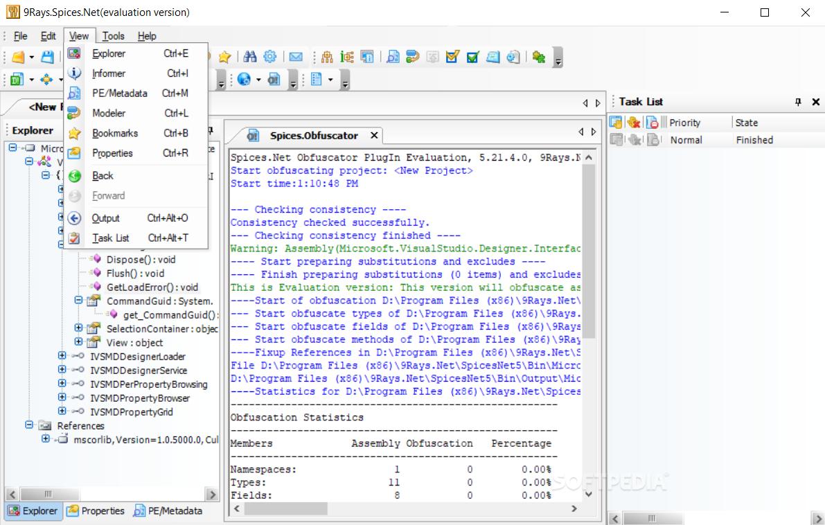 Download Spices Net Decompiler 5 17 10 0