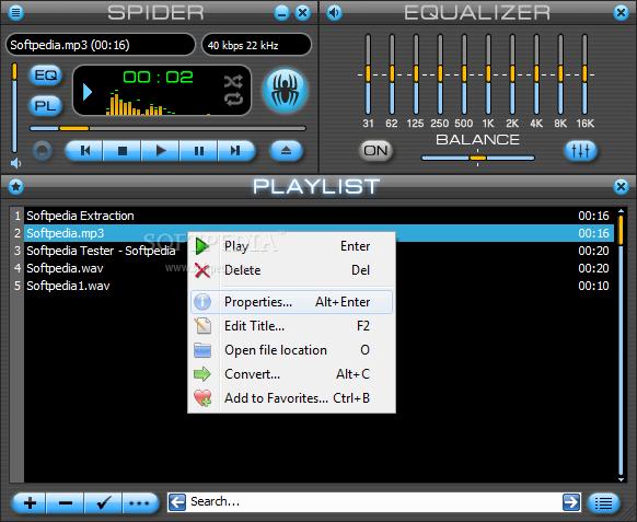 Download Spider Player 2 5 3