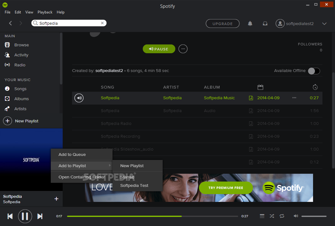 Download Spotify App 1 1 14 475