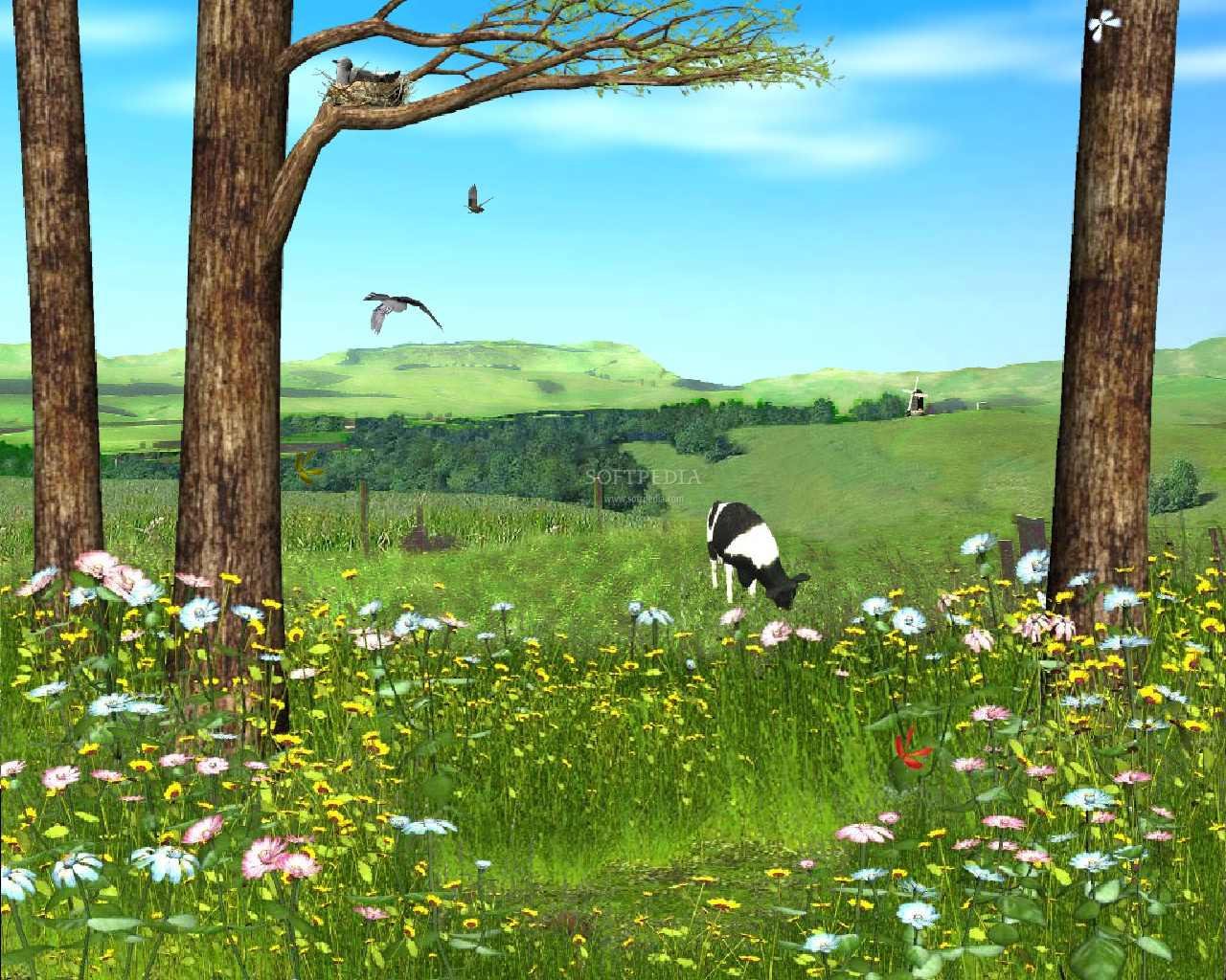 Proljeće - Page 2 Spring-Valley-Animated-Wallpaper_1