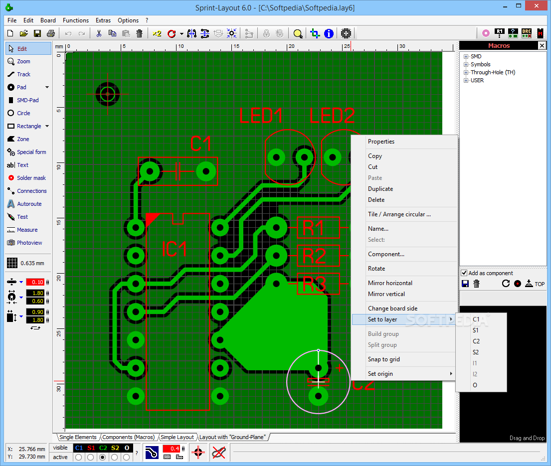 Download Sprint Layout 60 Sale Printed Circuit Board Designer