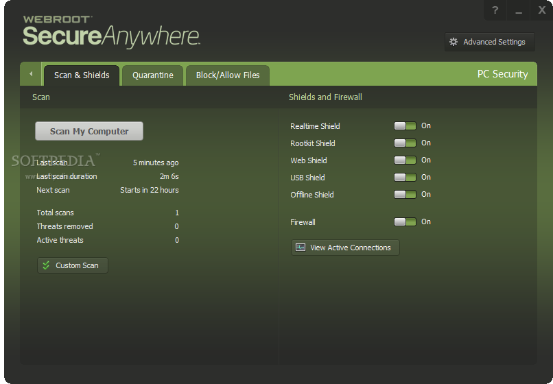 how to delete webroot secureanywhere