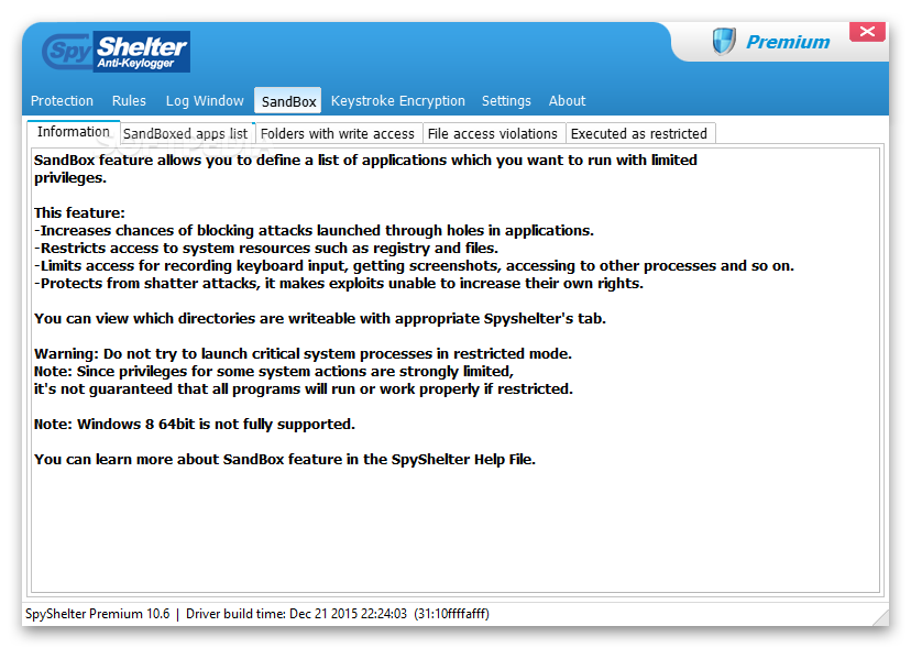 Download SpyShelter Anti-Keylogger Premium 11 8