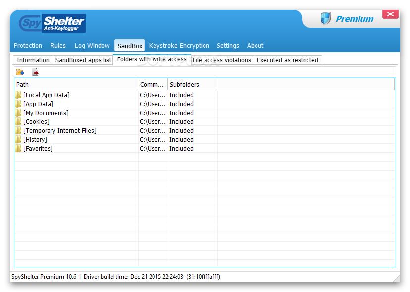 Download Spyshelter Firewall 10 9 4 Latest Version Software