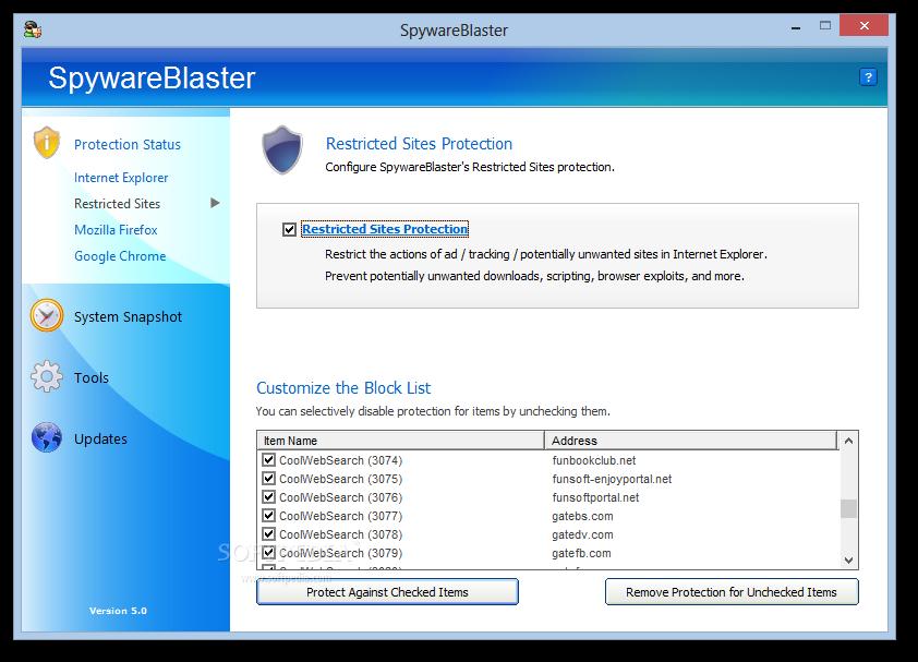 spywareblaster 4.1