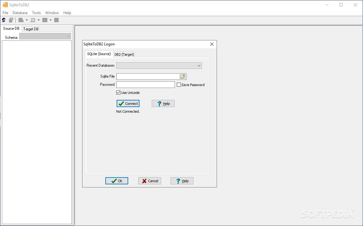 QnA VBage SqliteToDB2 2.3 Release 1 Build 190108 (Trial)