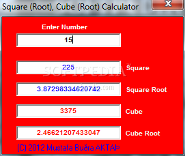 Square Root Chart Template .