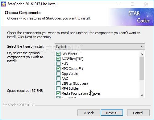 Download StarCodec Lite 20190614