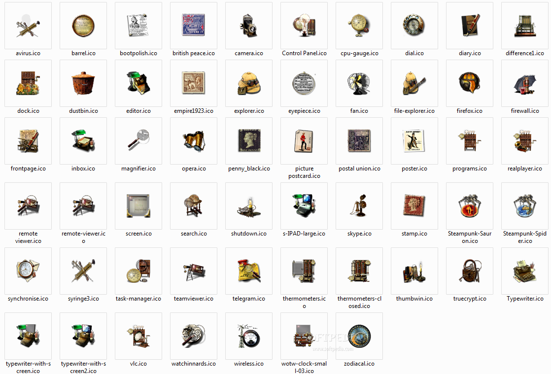 Download Steampunk Icons 1 0