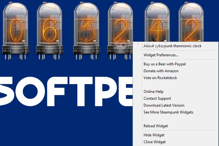 Download Cyberpunk Thermionic Nixie Tube Clock 1 0 3