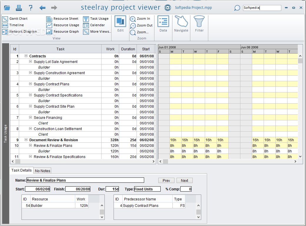 steelray project viewer