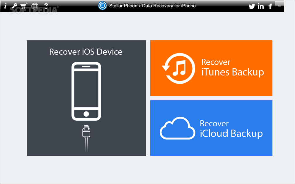 Stellar Phoenix Data Recovery for iPhone Smart iPhone Data Recovery Software to Recover Lost Photos, Videos & More Stellar Phoenix Data Recovery for iPhone is the best DIY software to recover missing or accidentally deleted Contacts, Messages, Calendar, Photos, Videos, Call History etc directly from iPhone or iPad.