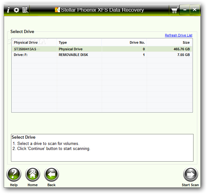 Download Stellar Phoenix XFS Data Recovery 1 0 0 0