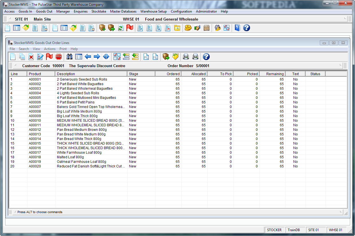 free wms software