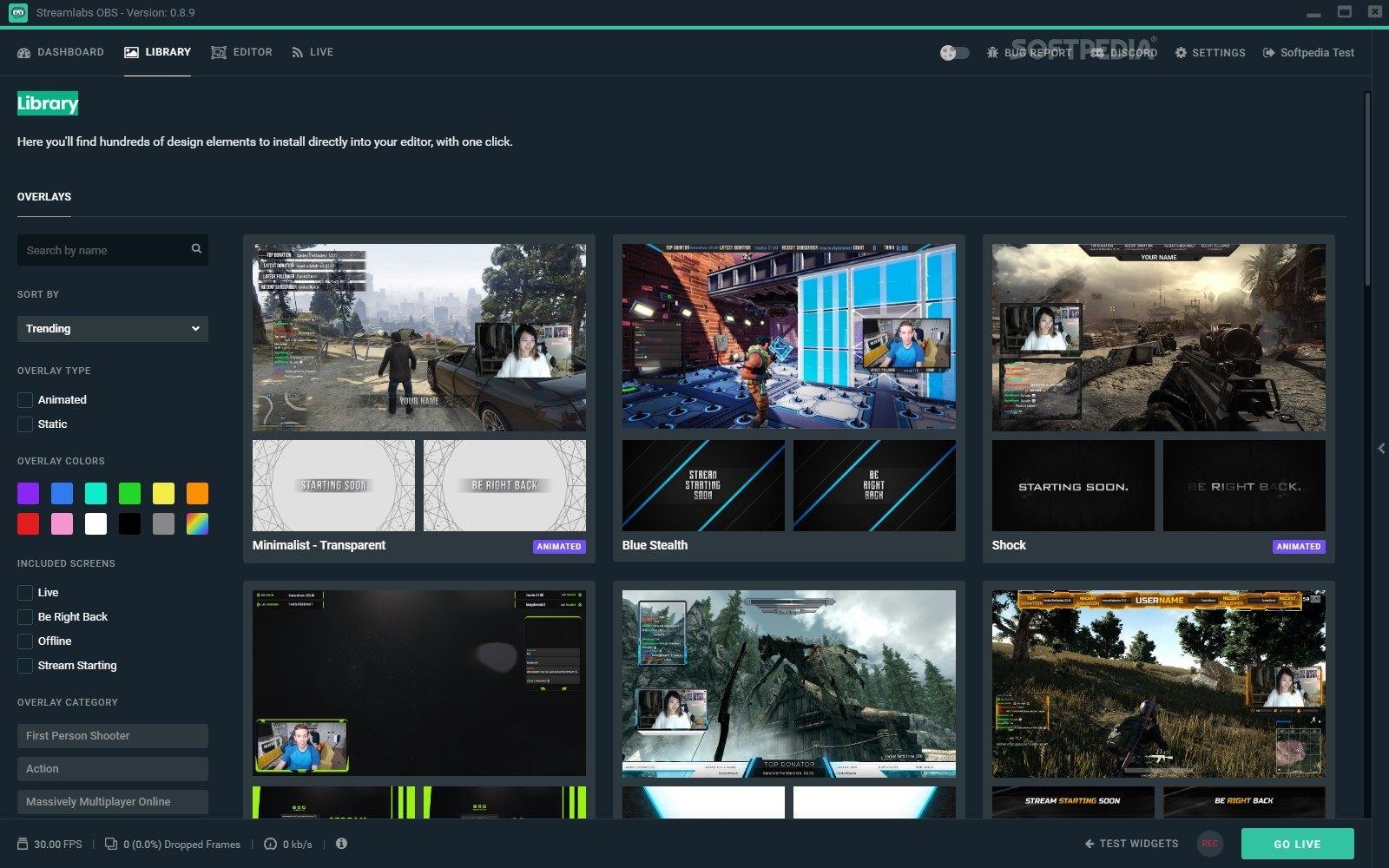 Download Streamlabs OBS 0 16 3 Beta