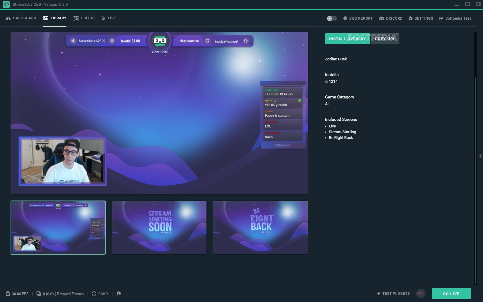 Download Streamlabs OBS 0 17 1 Beta