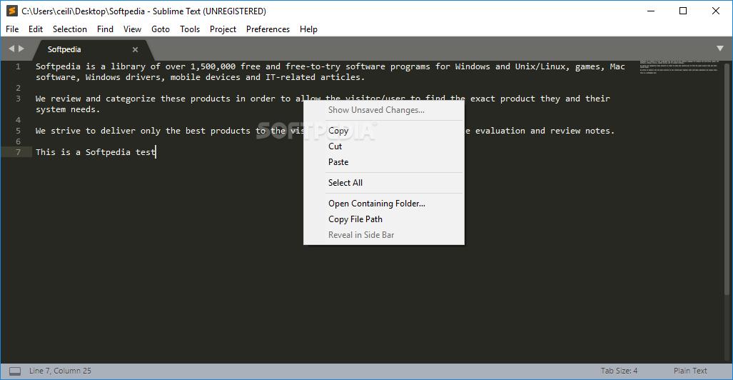 Download Sublime Text 3 2 Build 3207 / 3 2 1 Build 3208 Dev
