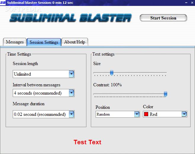 subliminal blaster