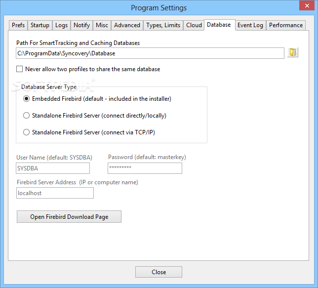 Download Syncovery 8 50d