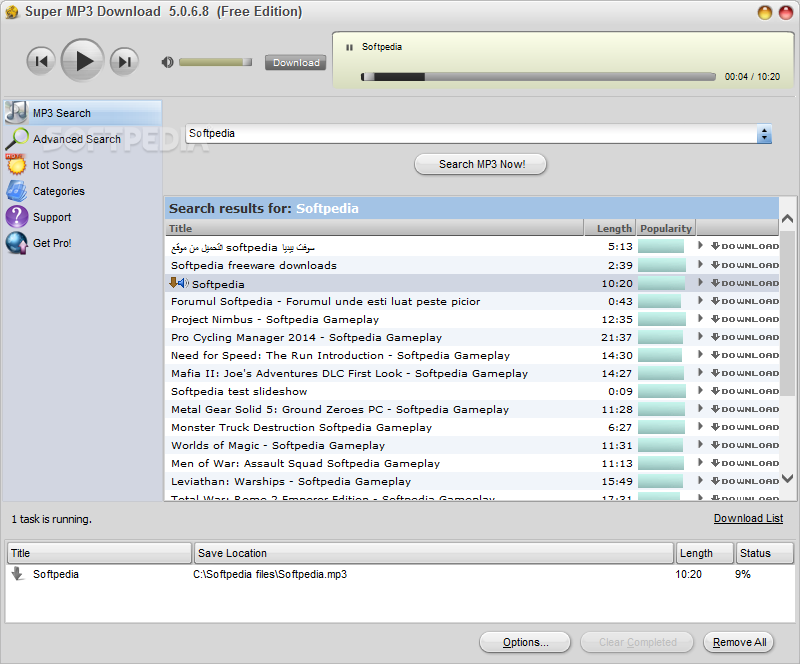Download Super MP3 Download 5.1.5.8